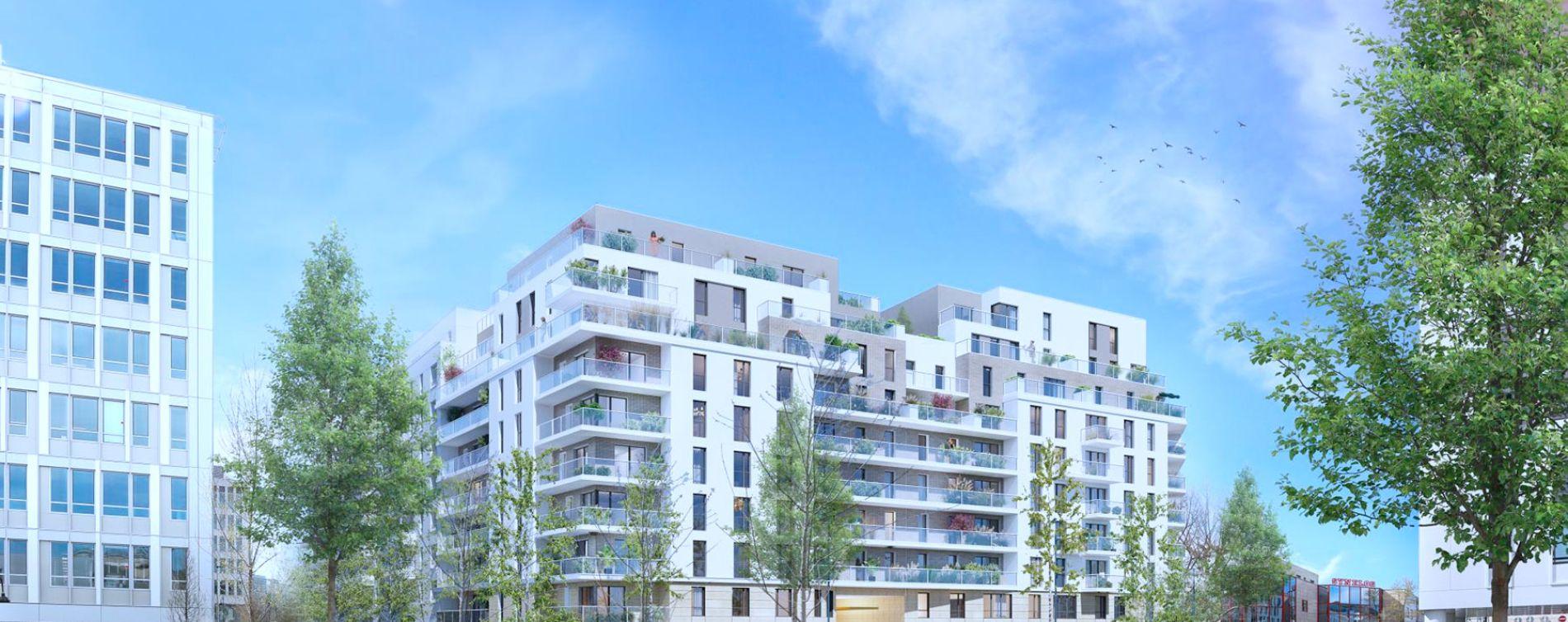 Rueil-Malmaison : programme immobilier neuve « 6 rue Paul Heroult » (2)