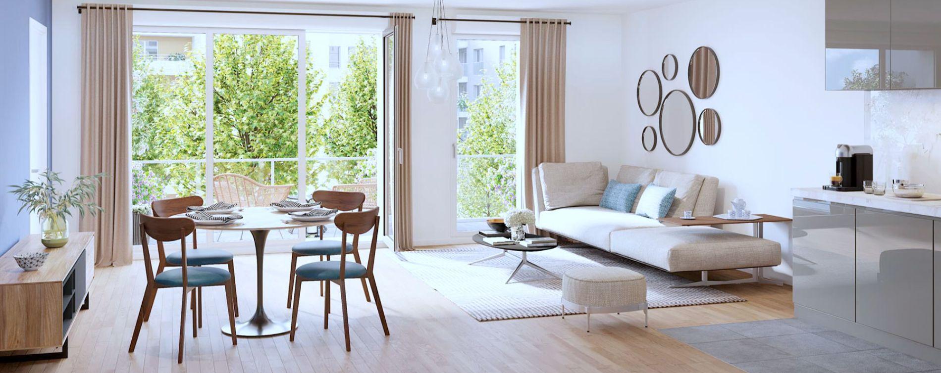 Rueil-Malmaison : programme immobilier neuve « 6 rue Paul Heroult » (3)