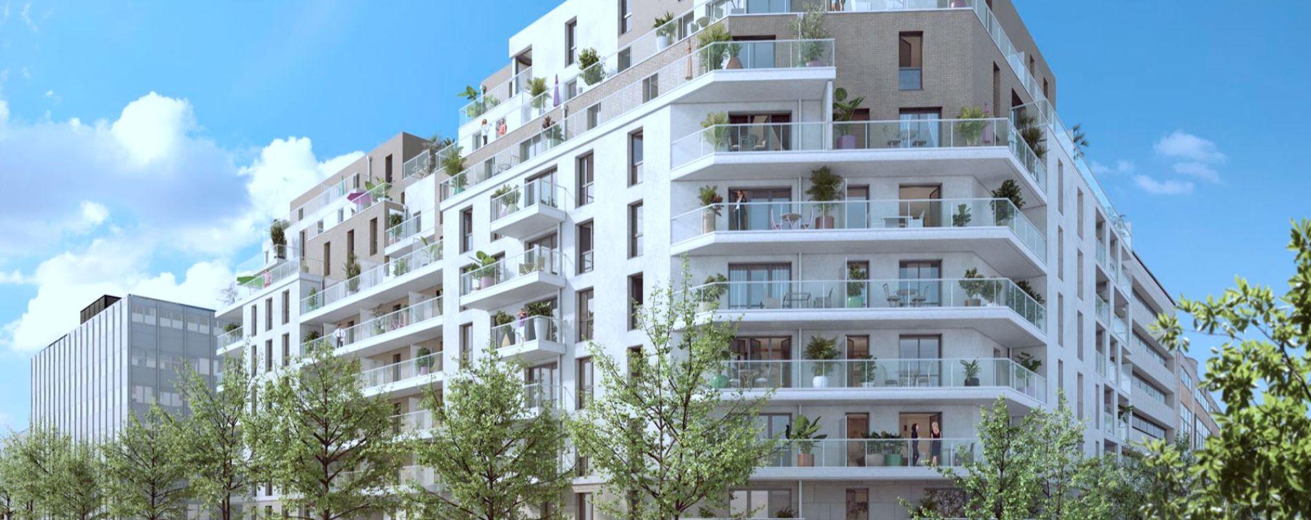 Rueil-Malmaison : programme immobilier neuve « 6 rue Paul Heroult » (4)