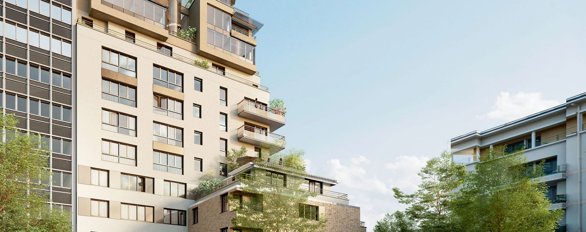 Rueil-Malmaison : programme immobilier neuve « Connexion »
