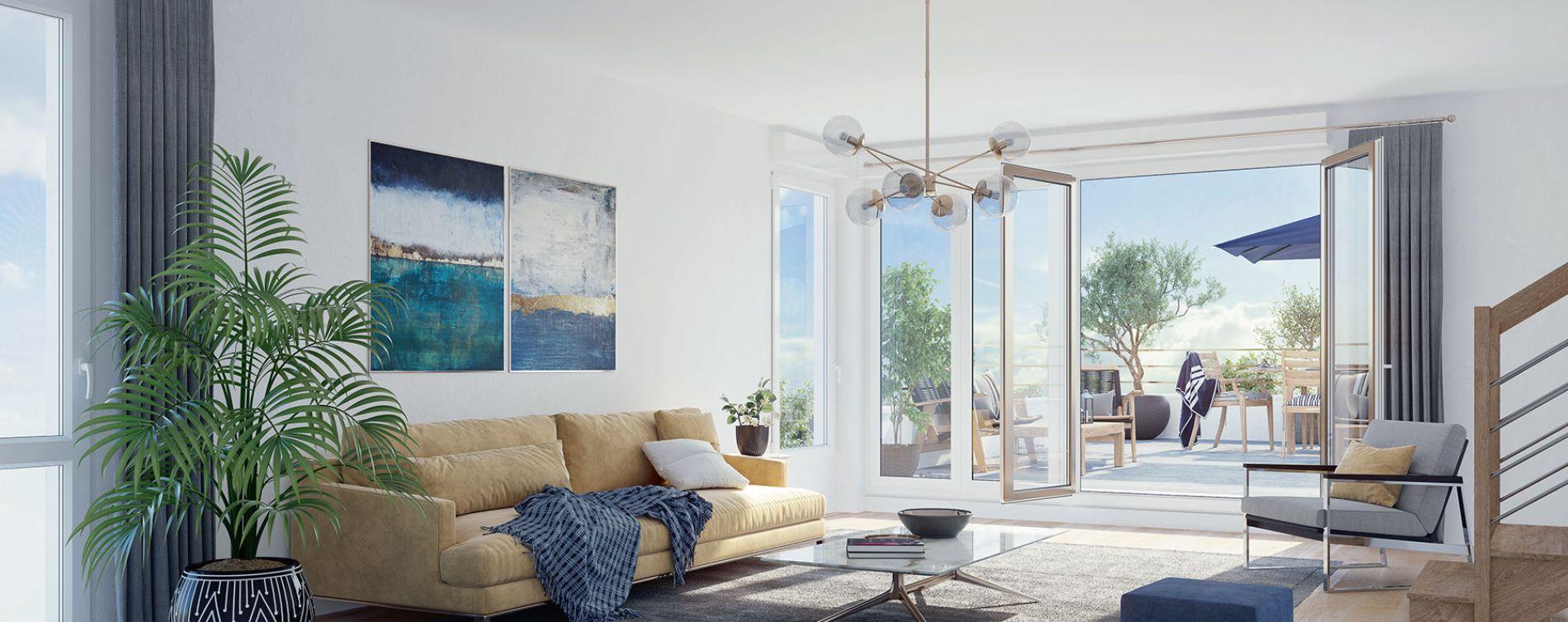 Rueil-Malmaison : programme immobilier neuve « Connexion » (3)