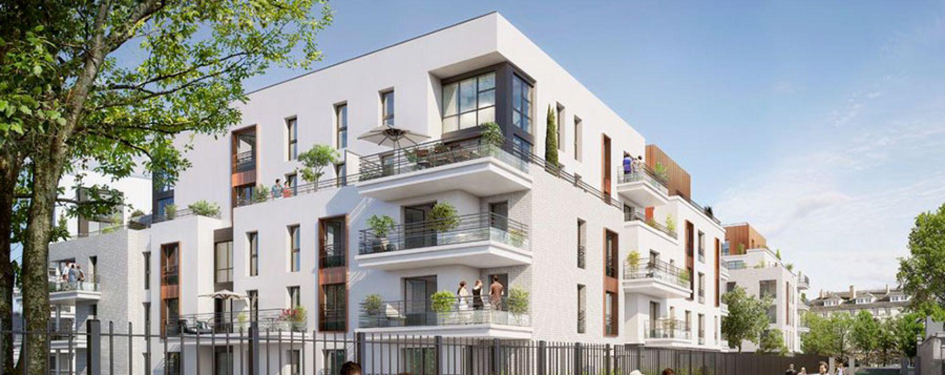 Rueil-Malmaison : programme immobilier neuve « Domaine Richelieu Tr2 »