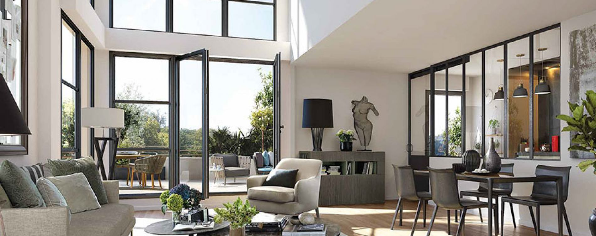 Rueil-Malmaison : programme immobilier neuve « Domaine Richelieu Tr2 » (2)