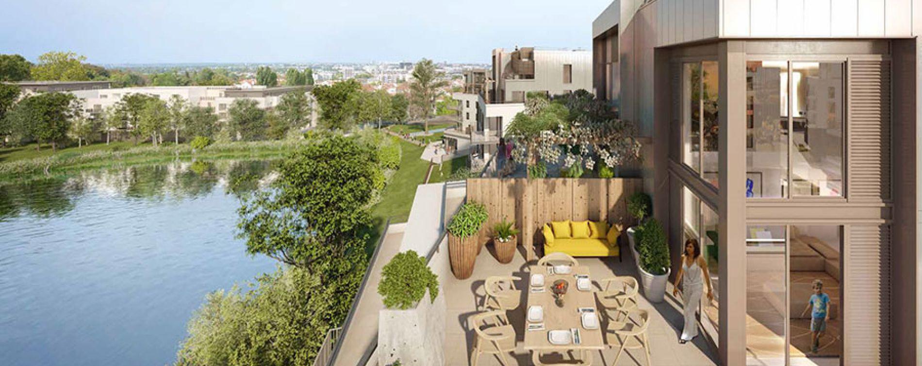 Rueil-Malmaison : programme immobilier neuve « Domaine Richelieu Tr2 » (3)