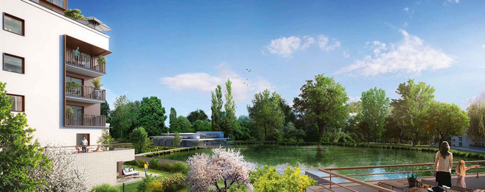 Rueil-Malmaison : programme immobilier neuve « Domaine Richelieu Tr2 » (4)