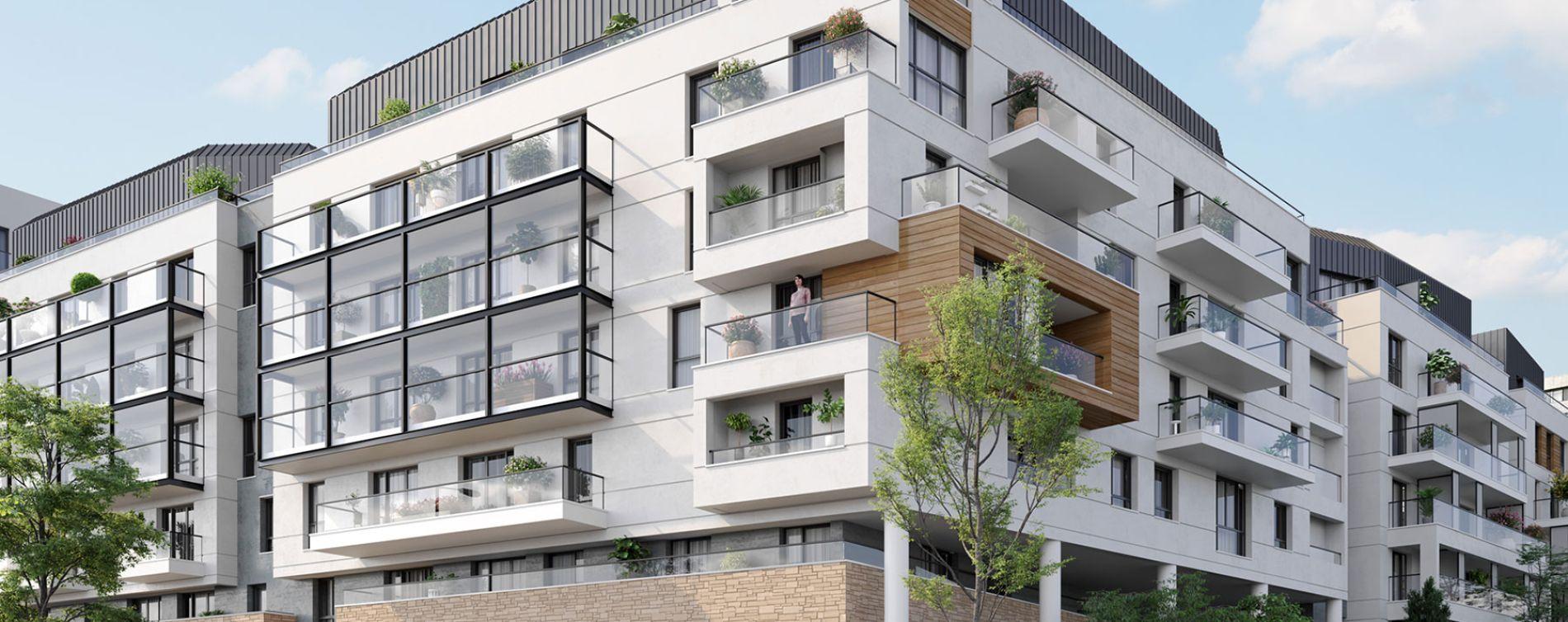 Rueil-Malmaison : programme immobilier neuve « Envies »