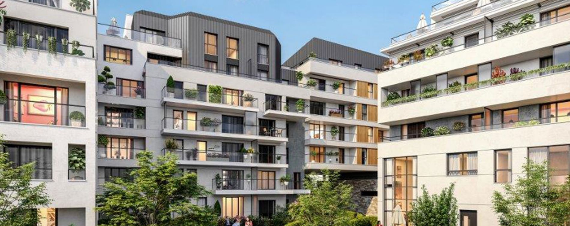 Rueil-Malmaison : programme immobilier neuve « Envies » (2)