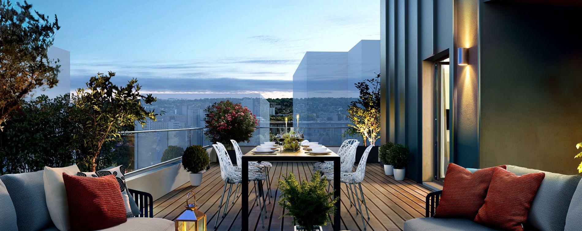 Rueil-Malmaison : programme immobilier neuve « Envies » (3)