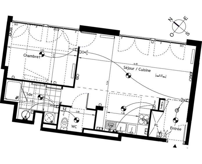 Plan T2 neuf à Rueil-Malmaison de