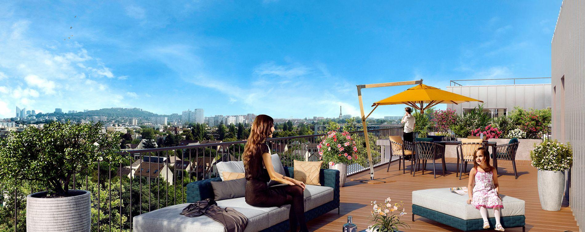 Rueil-Malmaison : programme immobilier neuve « Ô Domaine » en Loi Pinel
