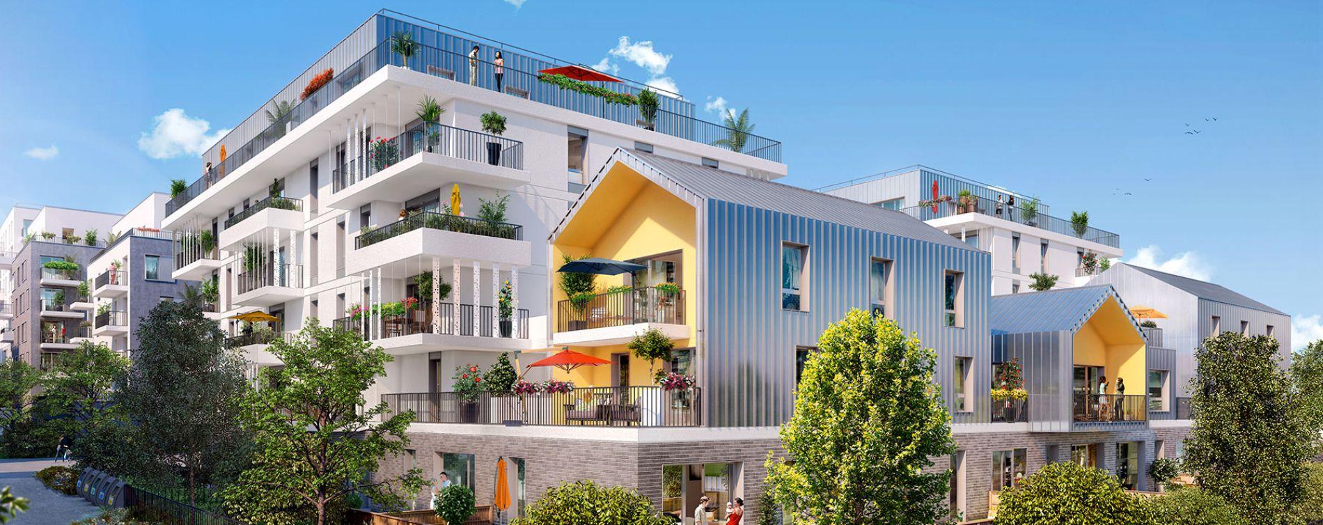 Rueil-Malmaison : programme immobilier neuve « Ô Domaine » en Loi Pinel (2)