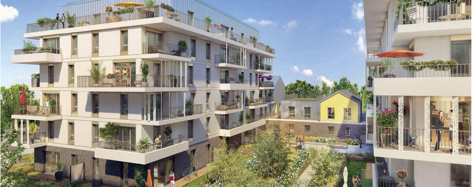 Rueil-Malmaison : programme immobilier neuve « Ô Domaine » en Loi Pinel (3)