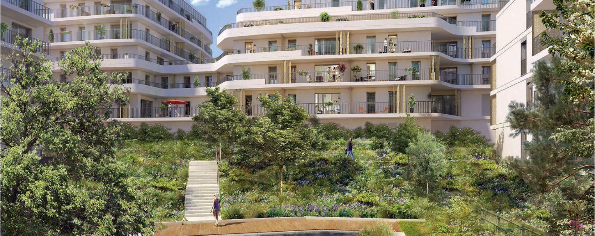 Rueil-Malmaison : programme immobilier neuve « Ô Domaine » en Loi Pinel (5)
