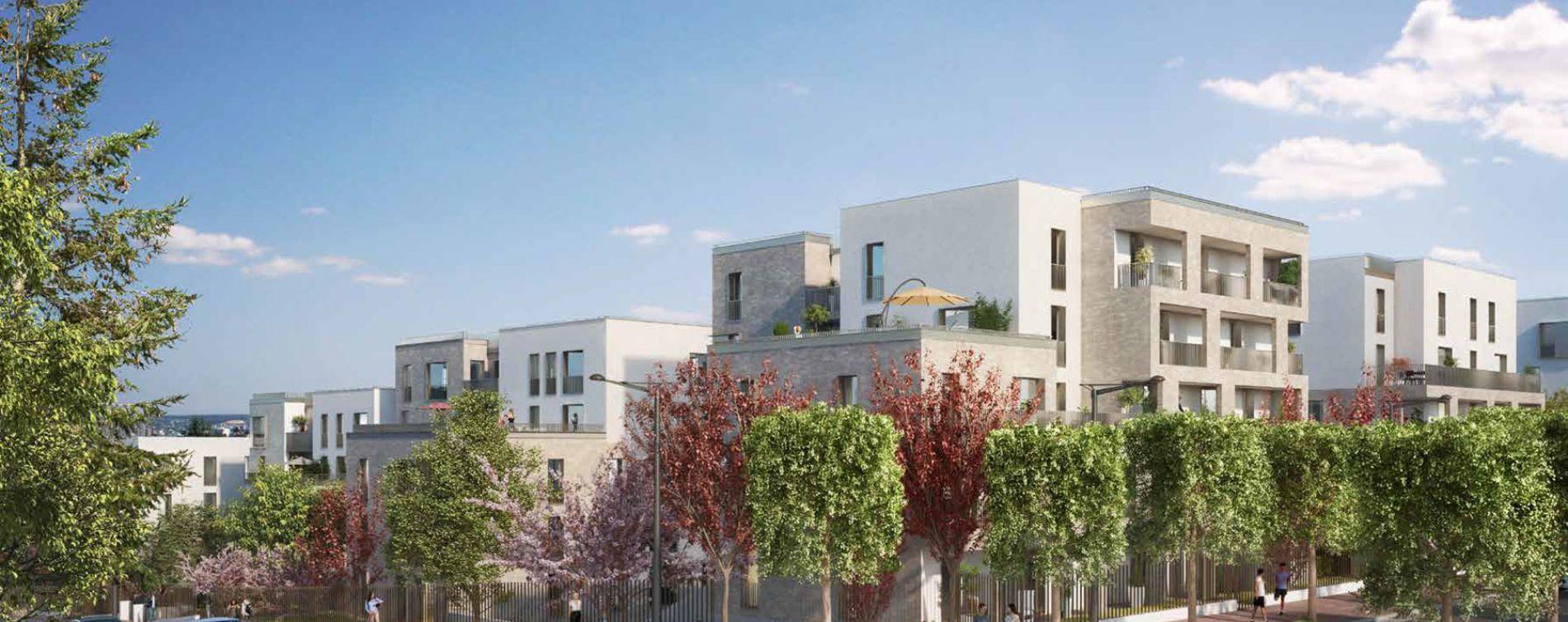 Rueil-Malmaison : programme immobilier neuve « Terrasses de la Châtaigneraie » en Loi Pinel