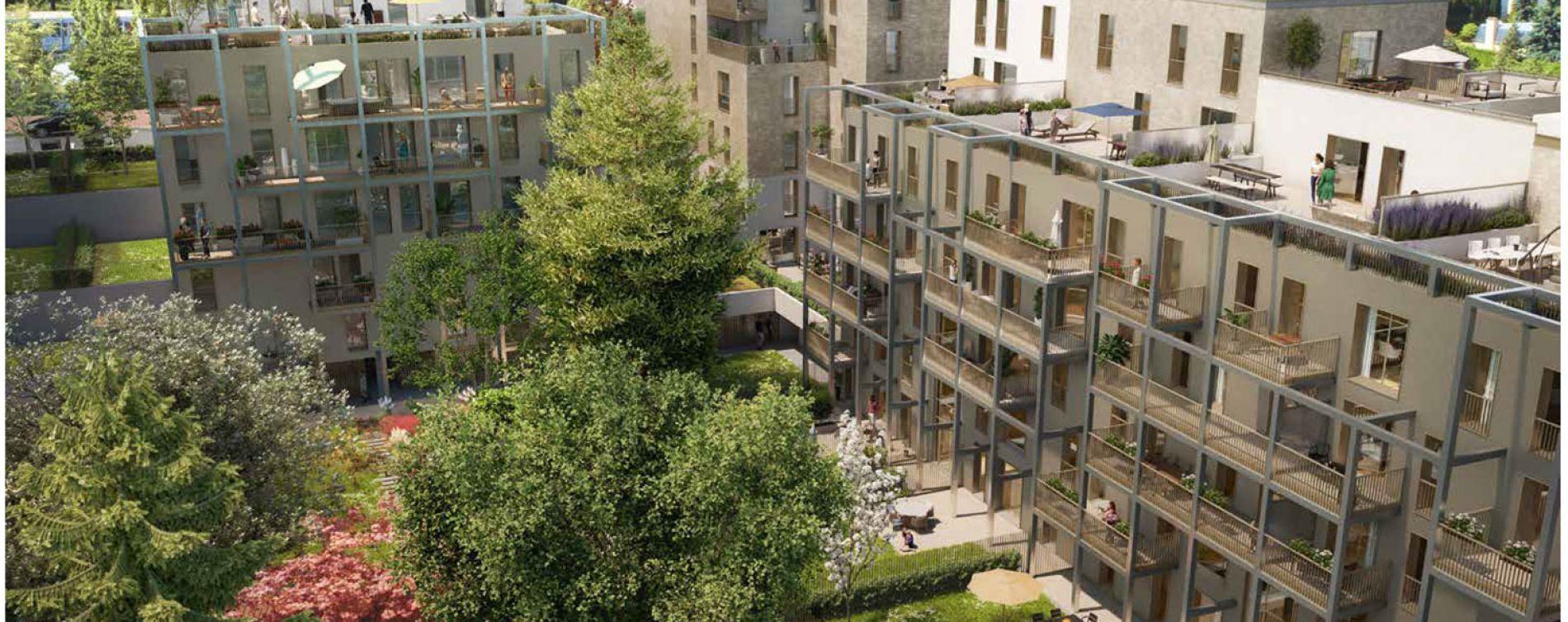 Rueil-Malmaison : programme immobilier neuve « Terrasses de la Châtaigneraie » en Loi Pinel (3)