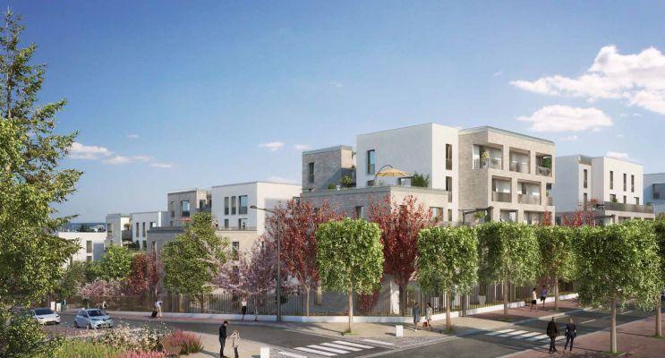 Rueil-Malmaison programme immobilier neuf « Terrasses de la Châtaigneraie » en Loi Pinel