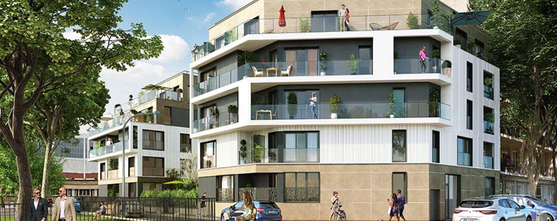 Saint-Cloud : programme immobilier neuve « En Seine » en Loi Pinel