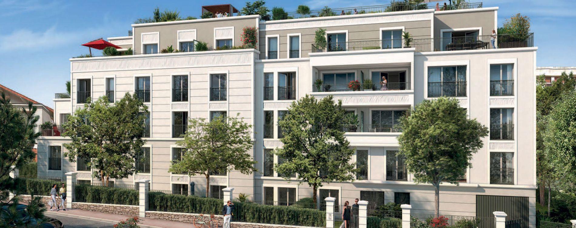 Saint-Cloud : programme immobilier neuve « L'Aparté » en Loi Pinel