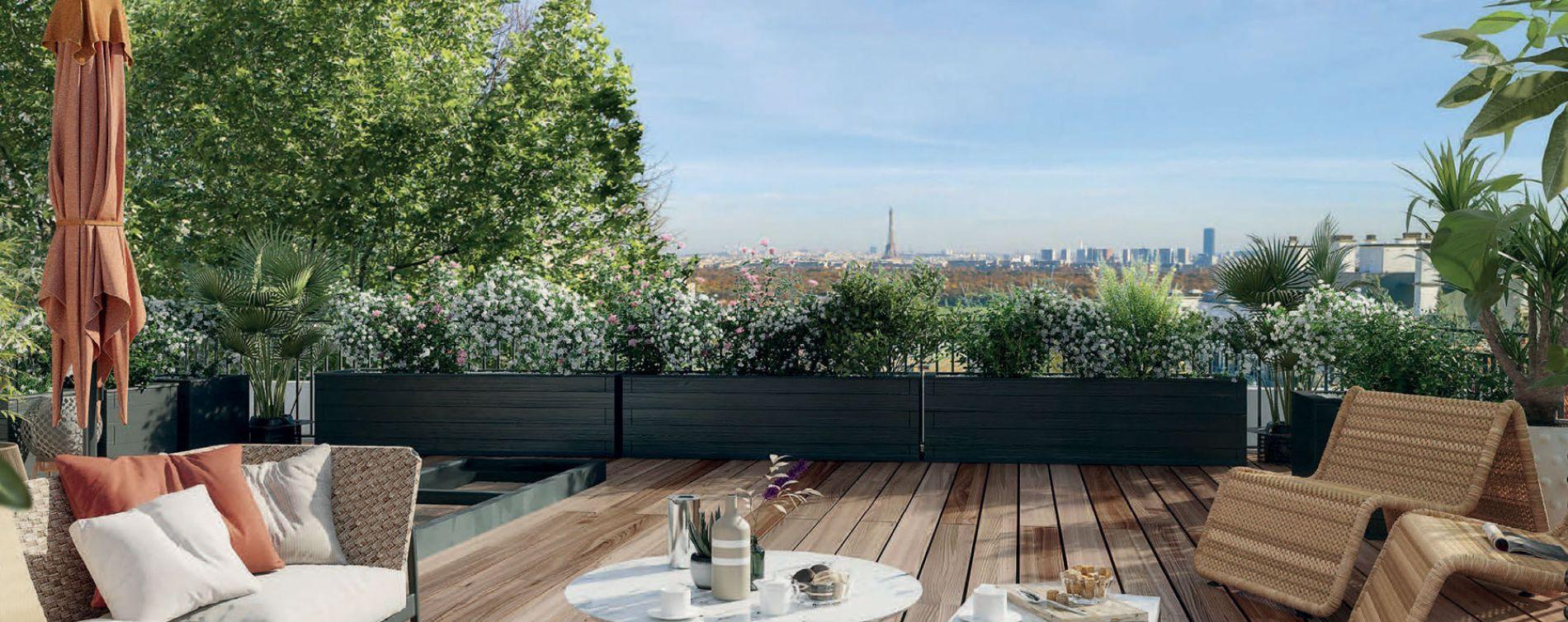 Saint-Cloud : programme immobilier neuve « L'Aparté » en Loi Pinel (2)