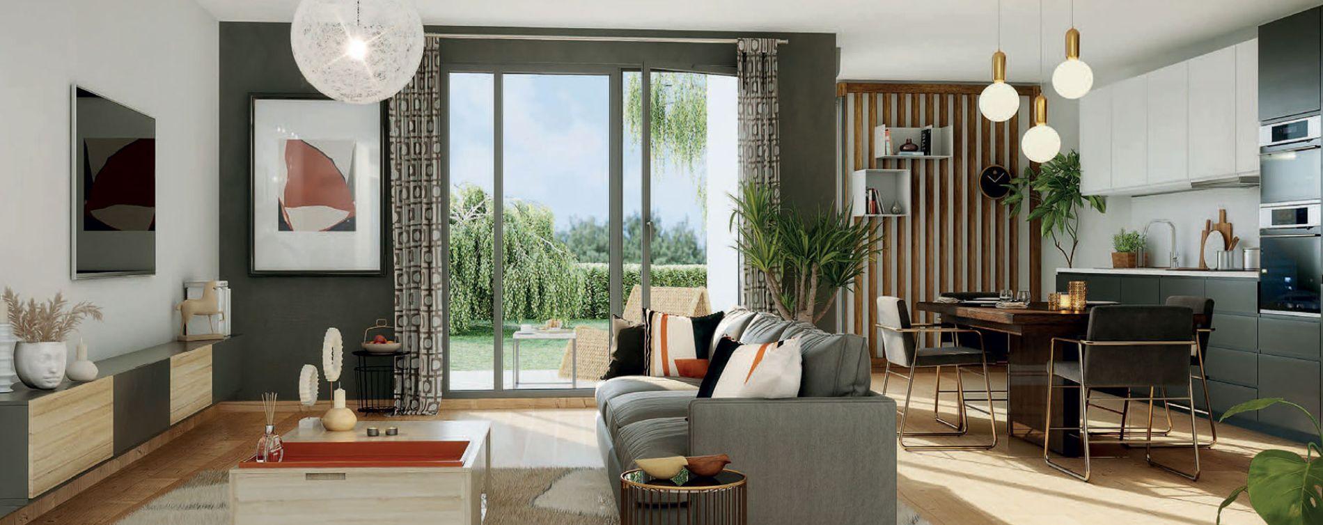 Saint-Cloud : programme immobilier neuve « L'Aparté » en Loi Pinel (3)