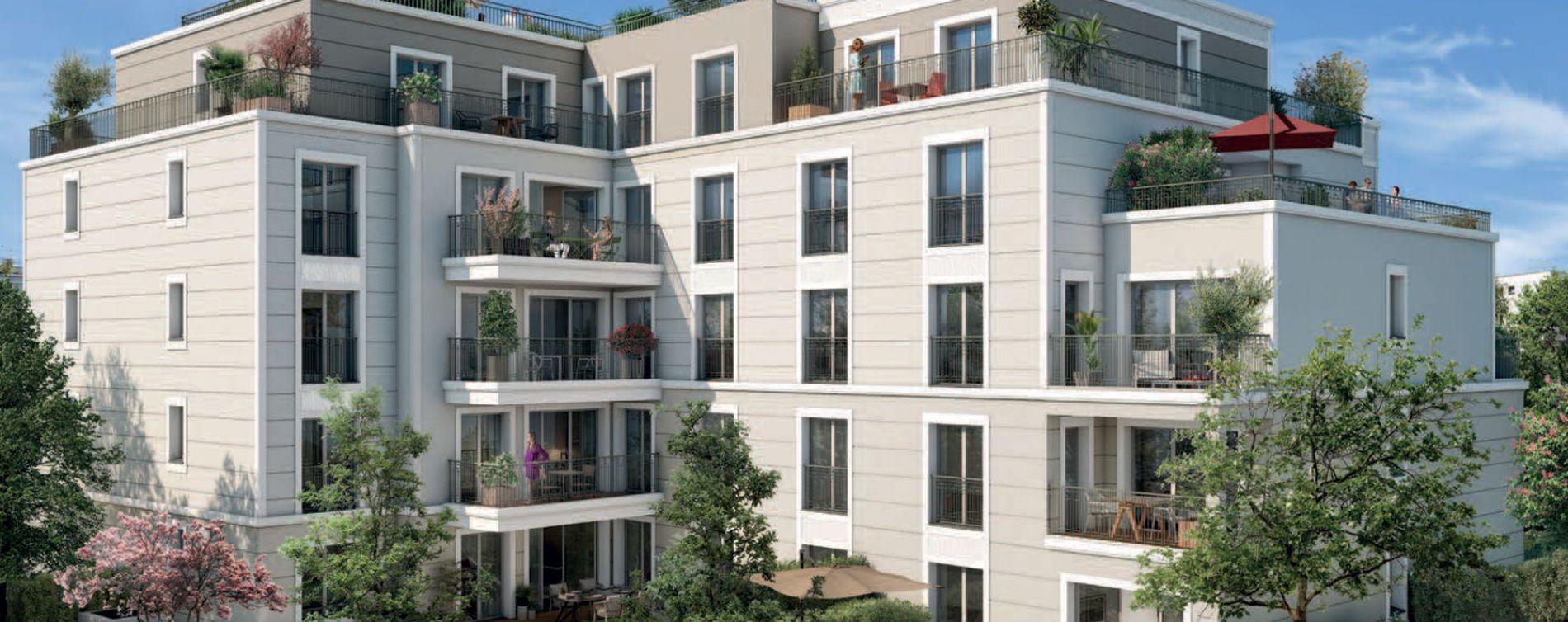Saint-Cloud : programme immobilier neuve « L'Aparté » en Loi Pinel (4)