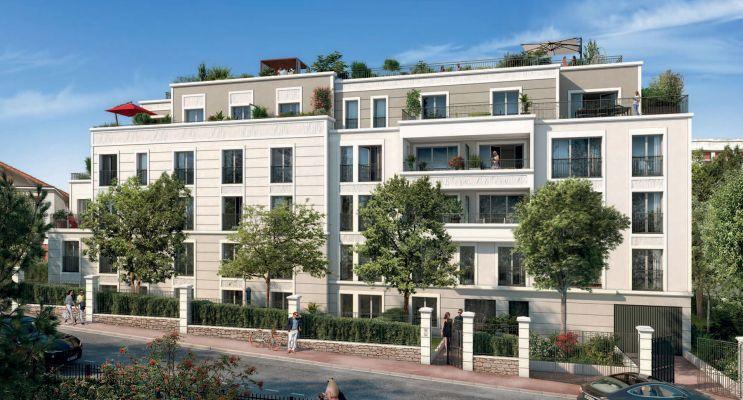 Saint-Cloud programme immobilier neuf « L'Aparté » en Loi Pinel