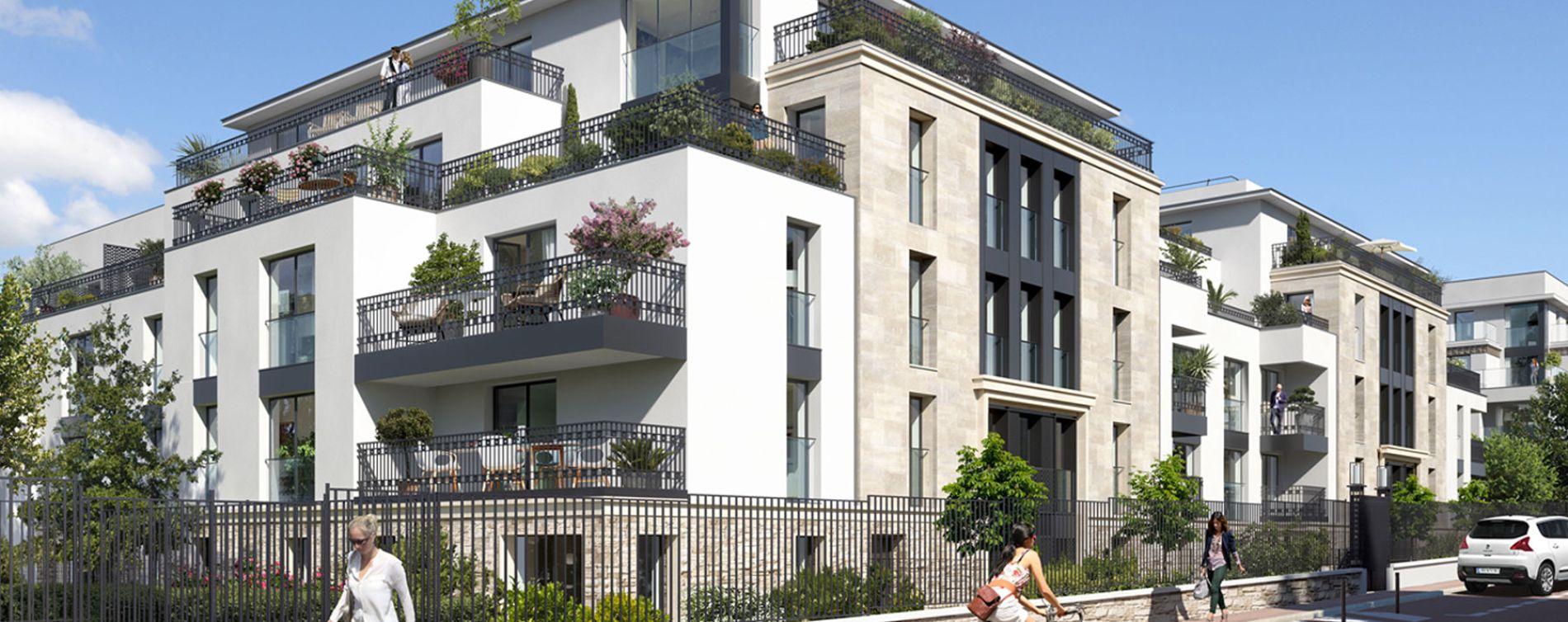 Saint-Cloud : programme immobilier neuve « Onyx » en Loi Pinel