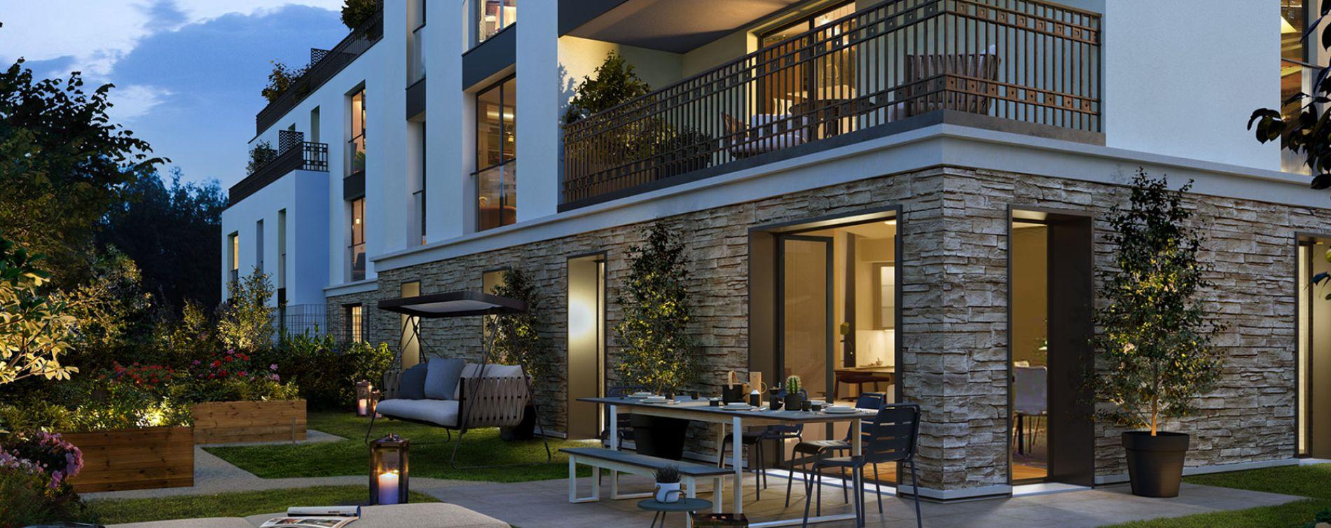 Saint-Cloud : programme immobilier neuve « Onyx » en Loi Pinel (2)