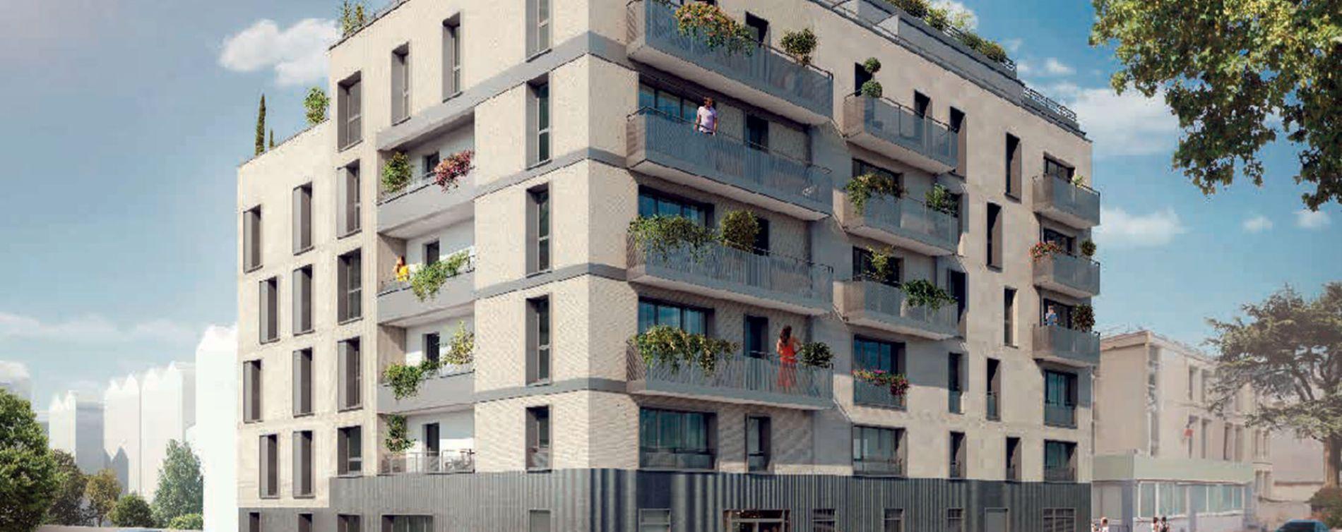 Vanves : programme immobilier neuve « L'Ecrin » en Loi Pinel