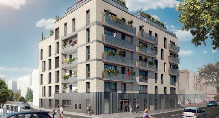 Vanves : programme immobilier neuf « L'Ecrin » en Loi Pinel