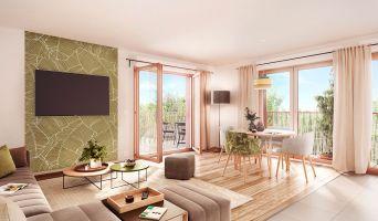 Vaucresson programme immobilier neuve « Jardin des Sens »  (4)