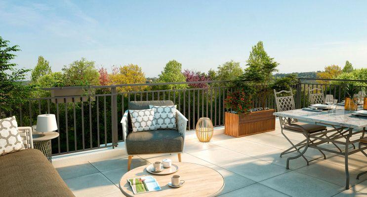 Photo n°2 du Résidence « Le Domaine Du Parc » programme immobilier neuf en Loi Pinel à Ville-d'Avray
