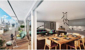 Photo du Résidence « 122 Damremont » programme immobilier neuf en Loi Pinel à Paris