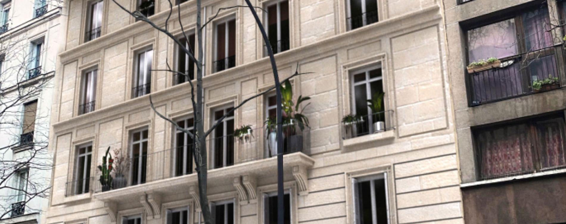 Paris : programme immobilier neuve « 200 rue de Crimée »