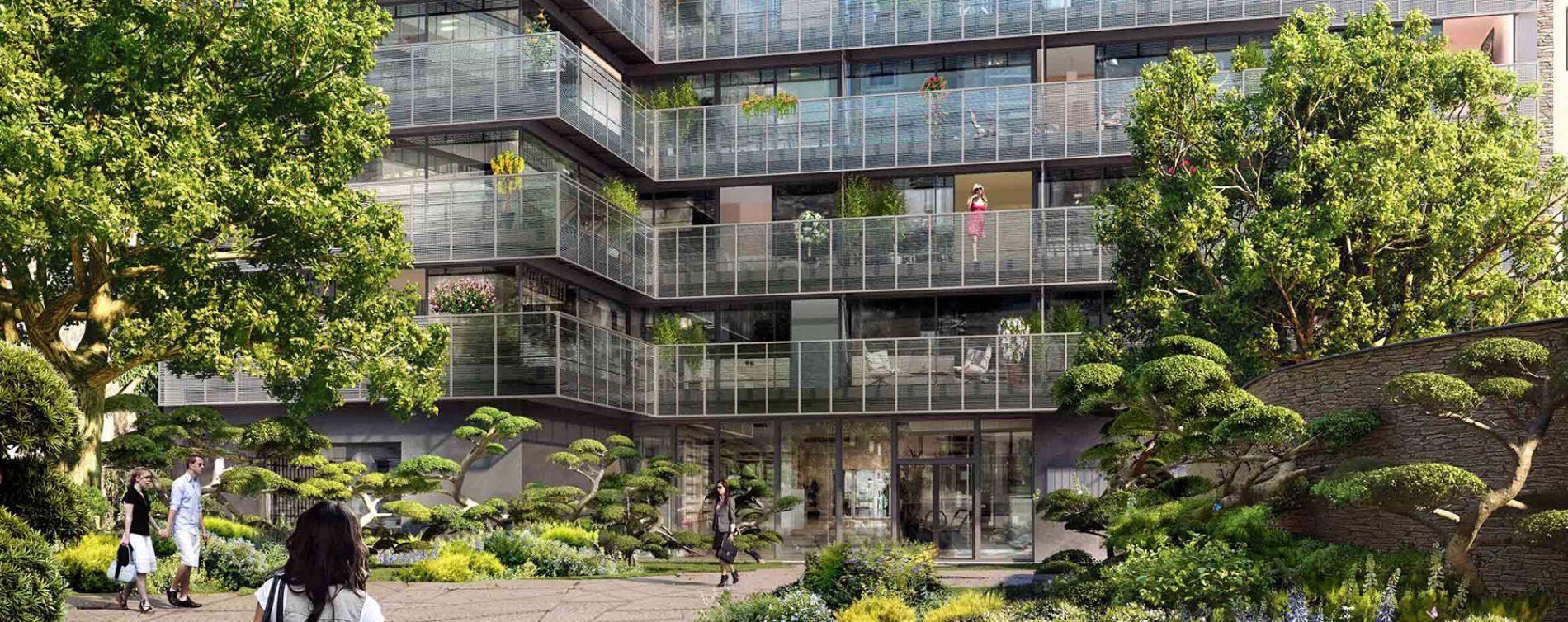Paris : programme immobilier neuve « 8 Campagne Première »