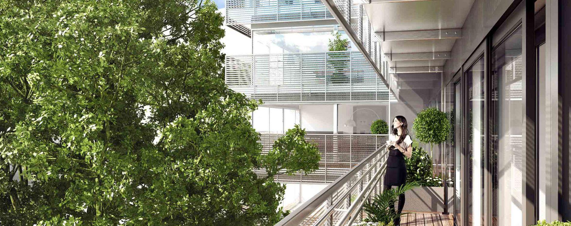 Paris : programme immobilier neuve « 8 Campagne Première » (3)