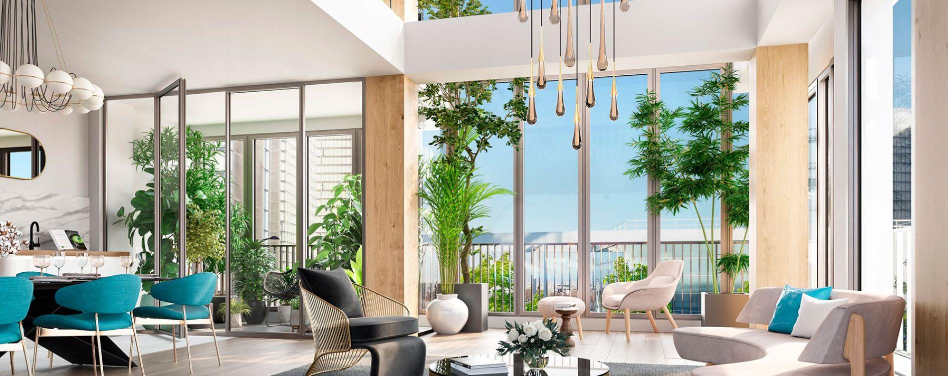 Paris : programme immobilier neuve « Air du Temps » (3)