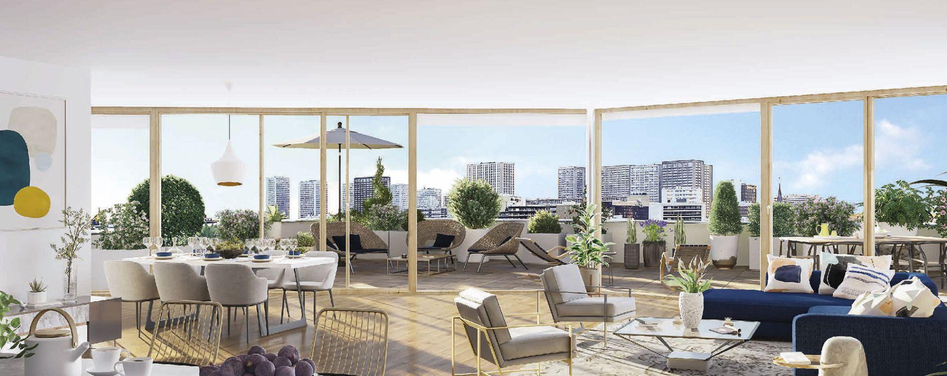 Paris : programme immobilier neuve « Air du Temps » (4)