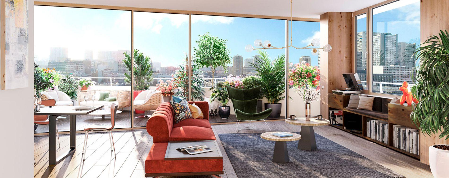 Paris : programme immobilier neuve « Air du Temps » (5)