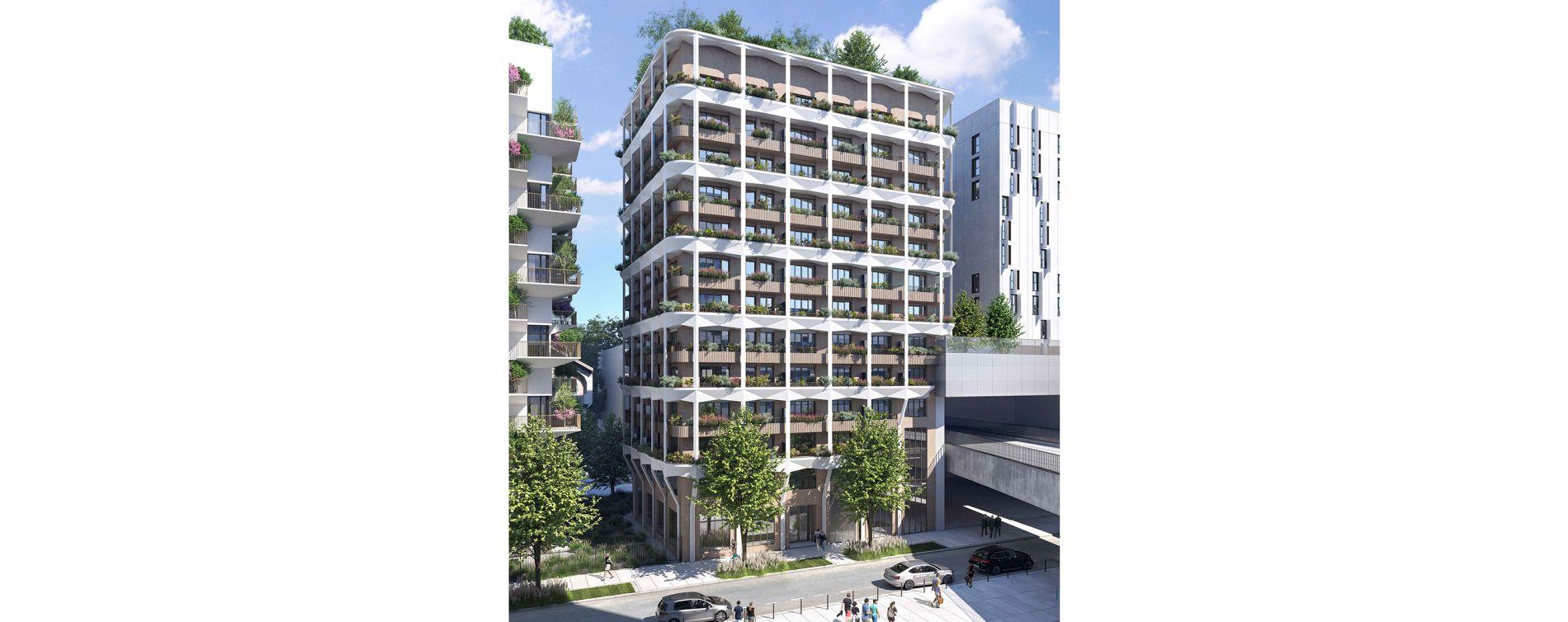Paris : programme immobilier neuve « Alguésens » en Loi Pinel (2)