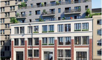 Photo du Résidence « Art & Mix » programme immobilier neuf à Paris
