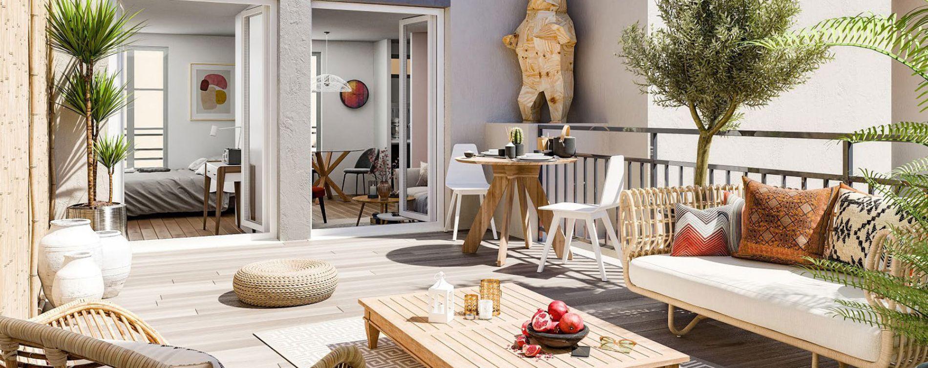 Paris : programme immobilier neuve « Artistyk » en Loi Pinel