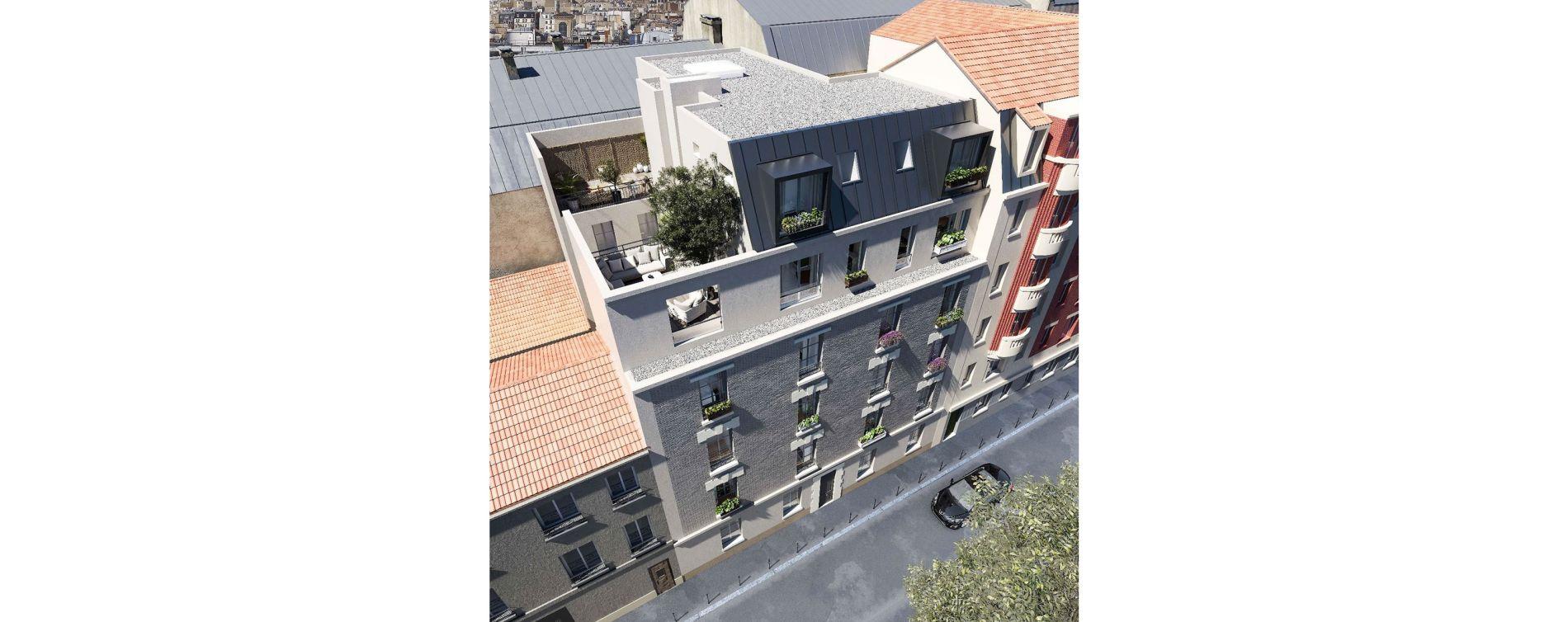 Paris : programme immobilier neuve « Artistyk » en Loi Pinel (2)