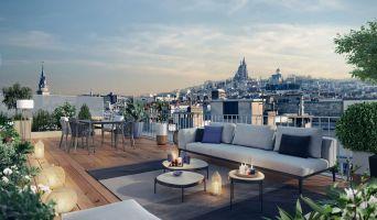 Paris programme immobilier neuve « Atelier Versigny » en Loi Pinel