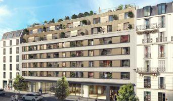Paris programme immobilier neuve « Atelier Versigny » en Loi Pinel  (2)