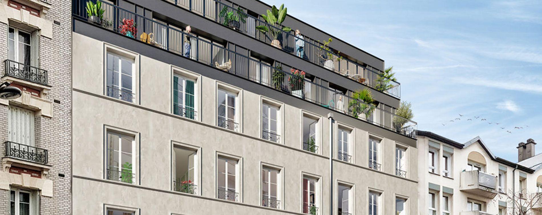 Paris : programme immobilier neuve « Belleville – Télégraphe » en Loi Pinel (3)