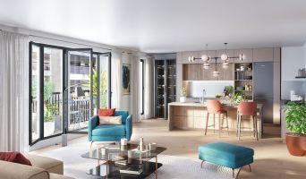 Paris : programme immobilier neuf « Belleville – Télégraphe » en Loi Pinel