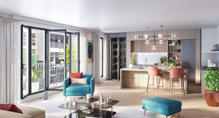 Photo du Résidence « Belleville – Télégraphe » programme immobilier neuf en Loi Pinel à Paris