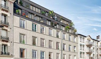 Paris : programme immobilier neuf « Belleville – Télégraphe »