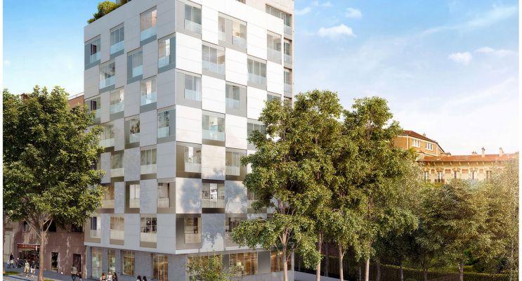 Photo du Résidence « Cubik » programme immobilier neuf à Paris